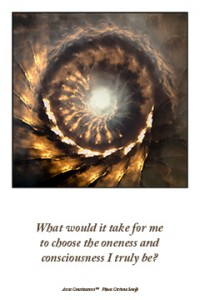 oneness consciousness
